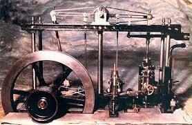 perfeccionamiento del motor a vapor por el escocés James Watt