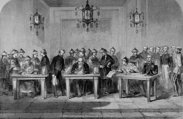La Convención de Pekín (18/Oct/1860).