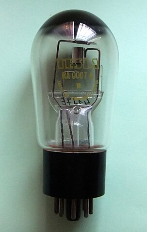 Diodo de vacío (válvula de vacío)