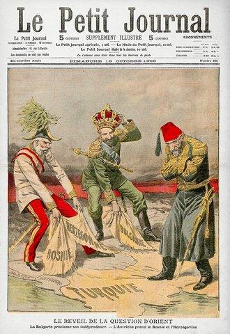 Anexión de Bosnia-Herzegovina por el Imperio austrohúngaro
