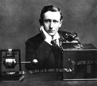 Construcción de la radio por Marconi