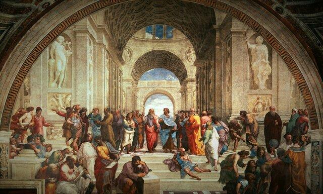 Escuela en Atenas