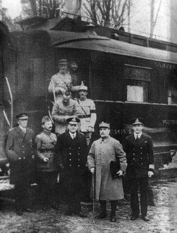 Armisticio de Compiègne (fin de la Gran Guerra)