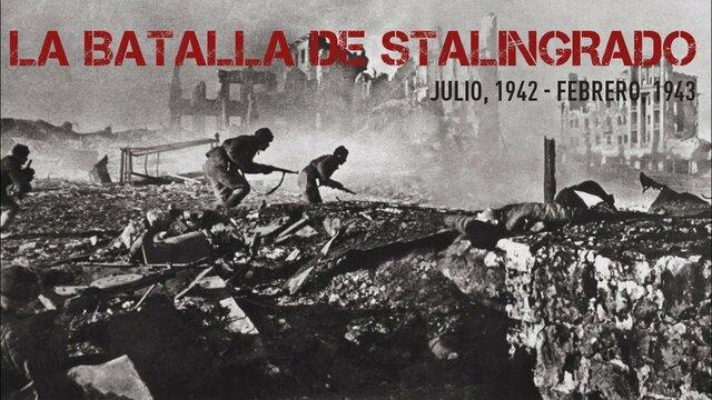 batalla de estalingrad
