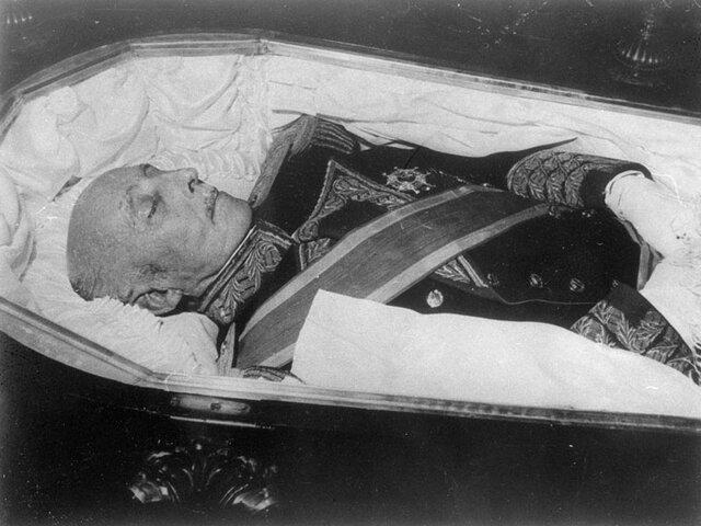 La mort de Franco