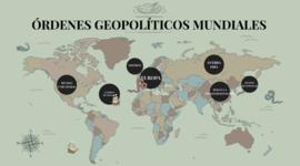 Ordenes Geopoliticos Mundiales timeline
