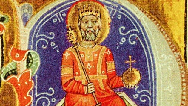 Szent István megkoronázása