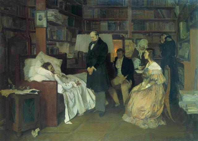 Александр Сергеевич Пушкин скончался.
