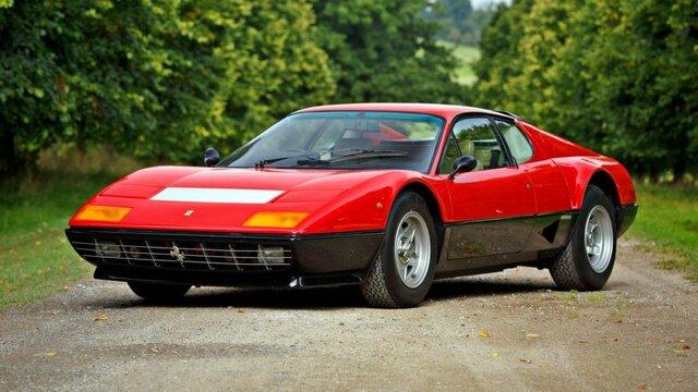 Ferrari 512 Berlinetta Boxer – 303 km/h