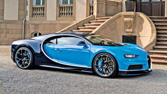 Bugatti Chiron – 491 km/h