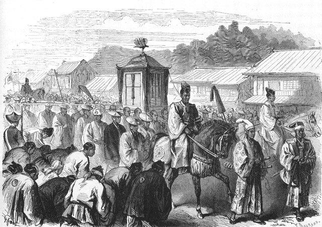 La revolución Meiji (1868-1912)