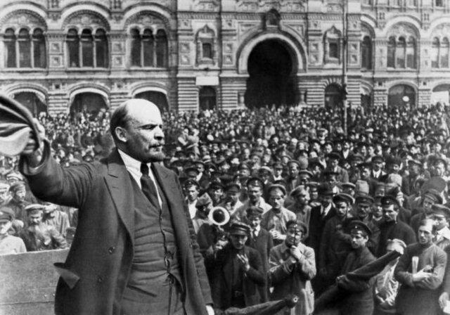 Triunfo de la revolución bolchevique