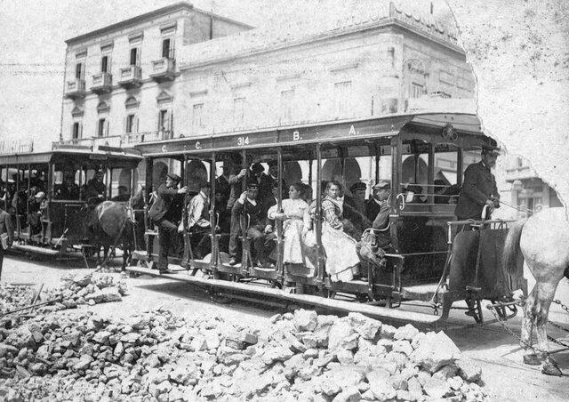 Inauguración del tranvía