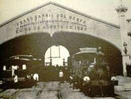 Estreno de la primera locomotora.