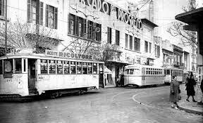 Inauguración de la primera línea de tranvías.