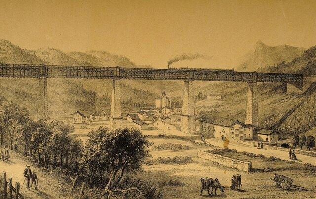 El viaducto de Ormaiztegi