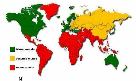 Se origina el termino países de tercer mundo