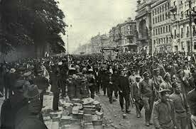 comienzo de la revolución de 1905