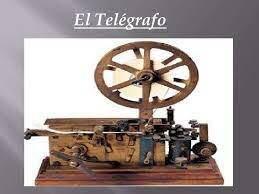 Las telecomunicaciones, propiamente dichas surgen con la aparición del telégrafo en 1833.