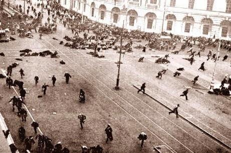 Salida de Rusia de la Primera Guerra Mundial