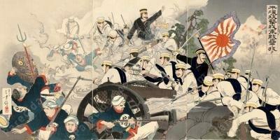 Comienzo de la Guerra chino/japonesa