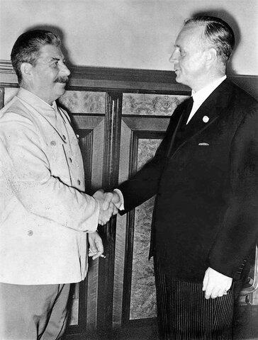 Pacto Germano-soviético(Pacto não agressão)