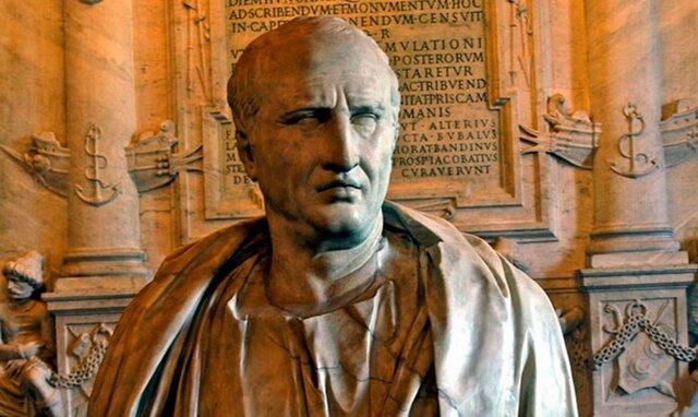 En la introducción a su obra de invención retórica Marco Tulio Cicerón