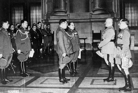 Formación del Eje Roma_Berlín / Gracia: Dictadura de Metaxás