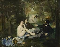 Almuerzo sobre la hierba, Édouard Manet