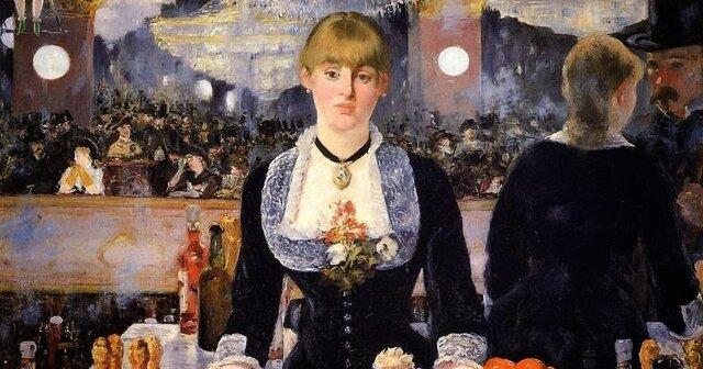El bar del Folies-Bergère, Édouard Manet