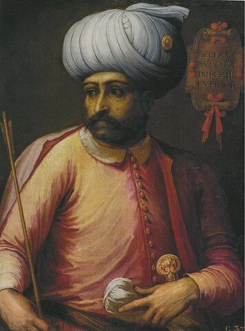 Selim I sottomette Siria ed Egitto