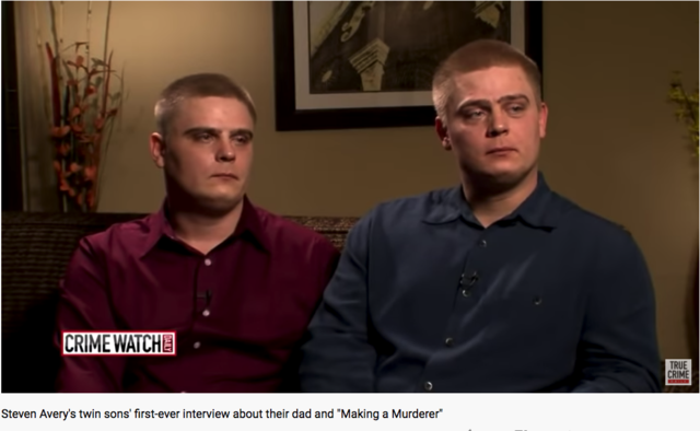 Steven Avery's twin sons (Steven Jr. and Bill) interviewed by Crimewatch Daily