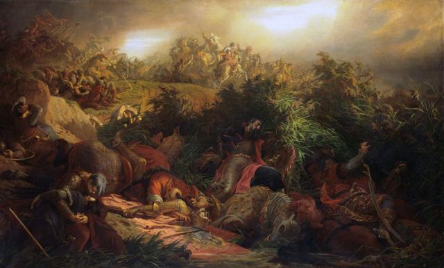 Battaglia di Mohàcs contro gli Ungheresi