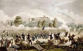 Caída del Castillo de Chapultepec- cese al fuego
