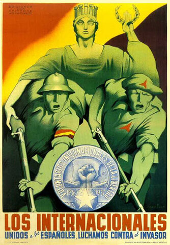 Retirada de las Brigadas Internacionales (mes) octubre