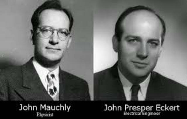 John William Mauchly  y  John Presper Eckert