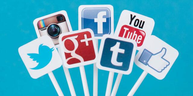 Popularidad de las redes sociales