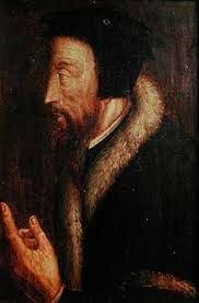 Disputa con el médico y teólogo ex-dominico francés Jérôme-Hermès Bolsec.