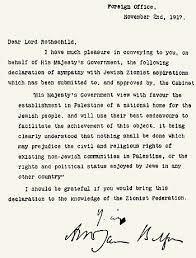De Balfour-verklaring