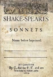 First sonnet