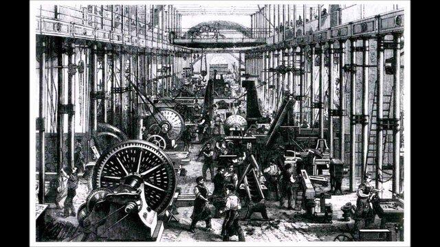 Prva tekstilna tvornica na parni pogon