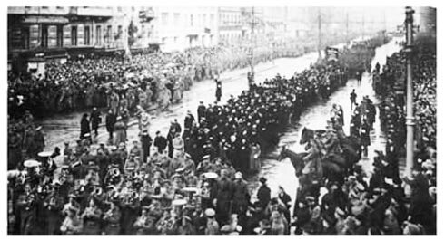 Revoluión de febrero de 1917