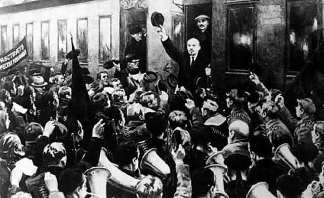 Revolución de octubre I (La llegada de Lenin)