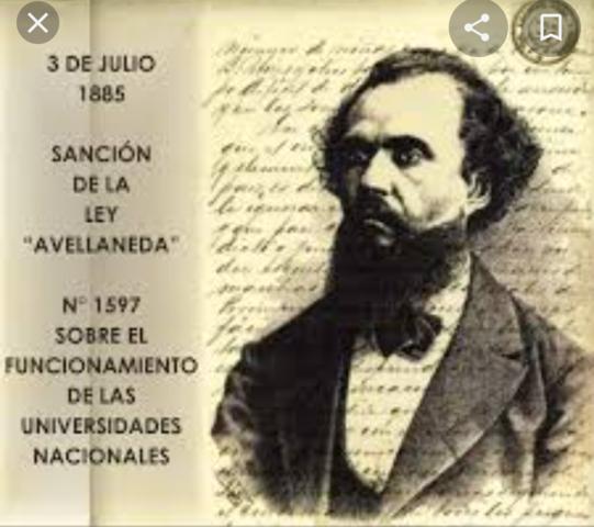 Se sanciona la ley de Avellaneda