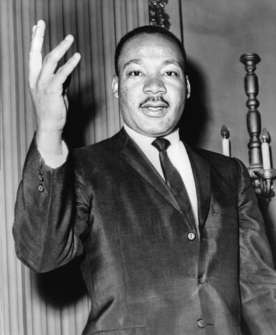 MARTIN LUTHER KING (1929-1968).