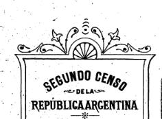 Segundo Censo en Argentina