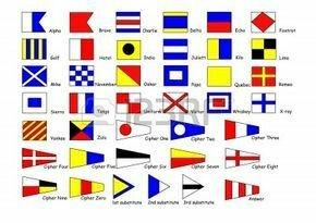 Señales con Banderas