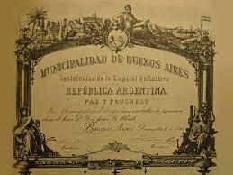 Sanción de la federalización de Buenos Aires