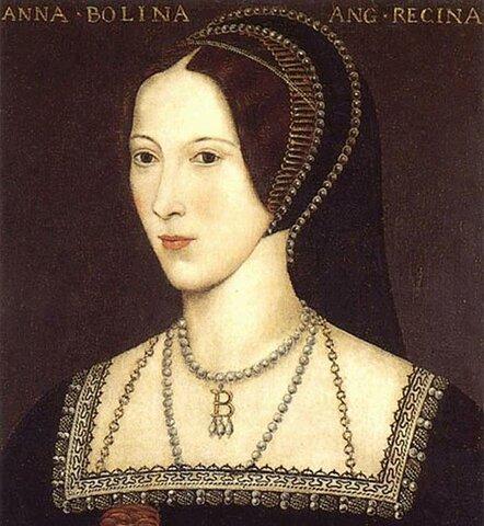 Segundo matrimonio de Enrique VIII con Ana Bolena.