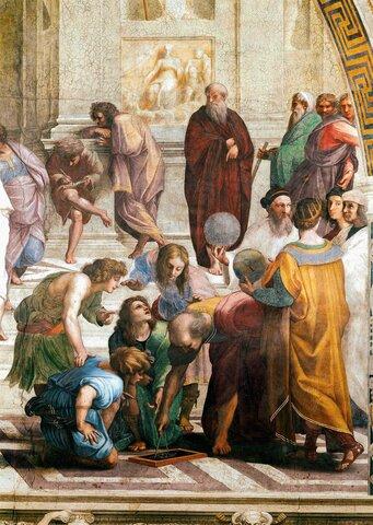 Las escuelas romanas